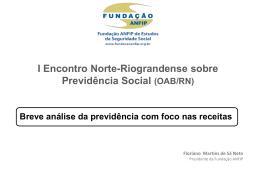 Slide 1 - Fundação ANFIP