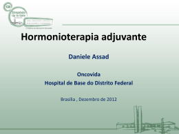 Hormonioterapia - Simpósio Up To Date