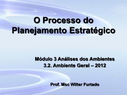 Processo do PE - Análise Amb Geral - 2011