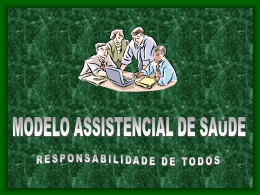 Modelo Assistencial de Saúde