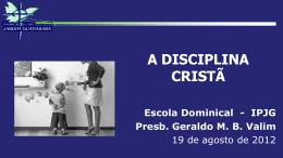 A Disciplina Cristã
