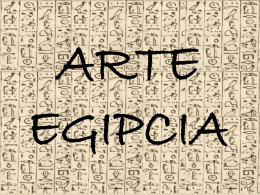 4 – Arte Egipcia