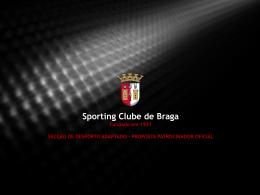 Contrapartidas do SC Braga - Sporting Clube de Braga