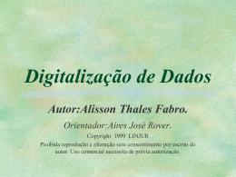 Digitalização de Dados