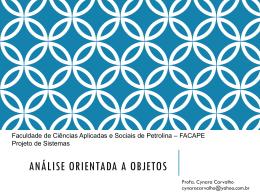 Análise Orientada a Objetos_aula03