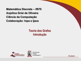 Grafos: introdução - Centro de Informática da UFPE