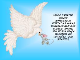 Vinde Espirito Santo Consolador