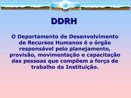 Treinamento e Desenvolvimento (slide)