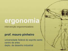 apreciação ergonômica - feira moderna · mauro pinheiro