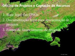 Elaboração de projetos e captação de recursos