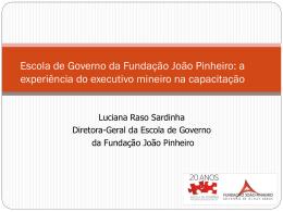 Slide - Tribunal de Contas do Estado de Minas Gerais