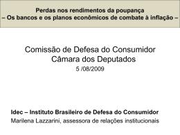 Idec - Câmara dos Deputados