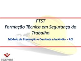 FTST 2013 PCI Aula A..