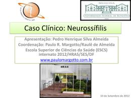 Caso Clínico: Neurossífilis
