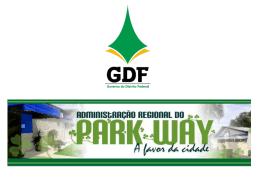 Adm Regional Park Way - Condomínios Ecológicos