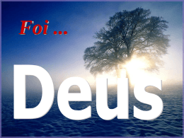 Foi DEUS - WordPress.com