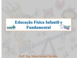 Educação Física Infantil e Fundamental