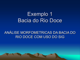 Bacia do Rio Doce