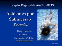 Acidentes por Submersão - Paulo Roberto Margotto