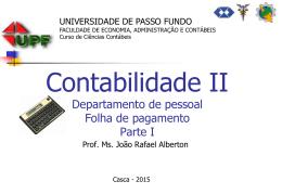 Folha de pagamento - EGM Consultoria Contábil