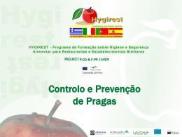 Cap.2 - Prevenção e Controlo de Pragas