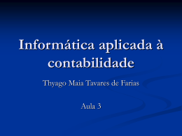 Software - Profº Thyago Maia