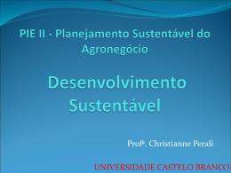 agricultura sustentável - Universidade Castelo Branco