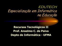 Multimidia Hipermidiana Educação