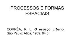 processos e formas espaciais - UNESP : Campus de Presidente