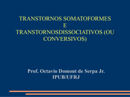 TRANSTORNOS SOMATOFORMES E - (LTC) de NUTES