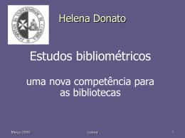 Jornadas APDIS 2006 HelenaDonato