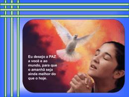 Meu desejo de Paz