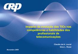 Impacto da evolução das TICs nas competências e