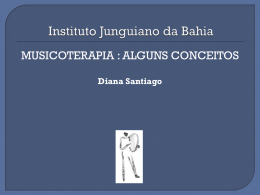 Slide 1 - Instituto Junguiano da Bahia