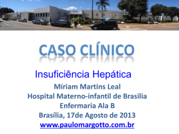 Caso Clínico: Insuficiência hepática