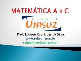 Introdução à linguagem matemática.
