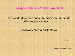 Conceituando Responsabilidade Social e Ambiental