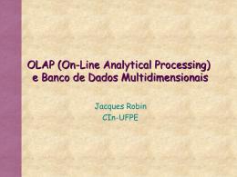 OLAP - Centro de Informática da UFPE