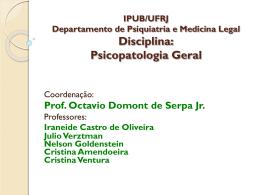 IPUB/UFRJ Departamento de Psiquiatria e Medicina Legal