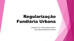 REGULARIZAÇÃO FUNDIÁRIA NA AMAZÔNIA LEGAL - Anoreg-MT