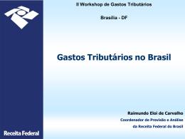 Gastos Tributários no Brasil