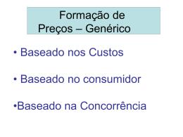 Base = Preço