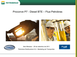 Alex Messias Proconve P7 - Diesel BTE – Flua Petrobras