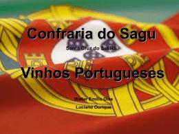 apresentação vinhos portugueses