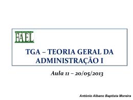 Experiência Hawthorne - TGA Teoria Geral da Administração