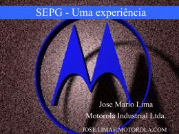 SEPG - Uma experiência