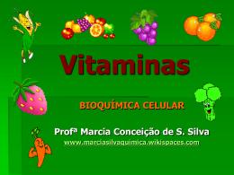 Vitaminas - marciasilvaquimica
