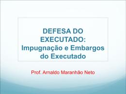 DEFESA DO EXECUTADO