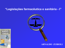 LEGIS FARM E SANIT - Curso MAR 5