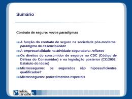 Microsseguros - Polido e Carvalho Consultoria